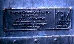 BO 51 builders plate